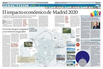 Principales ingraestructuras de Madrid 2020