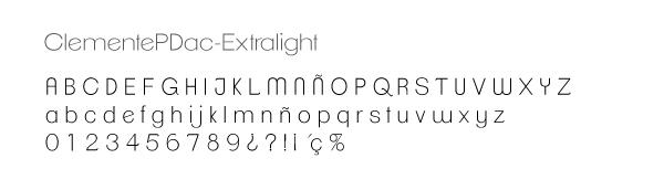 Tipografía del logotipo