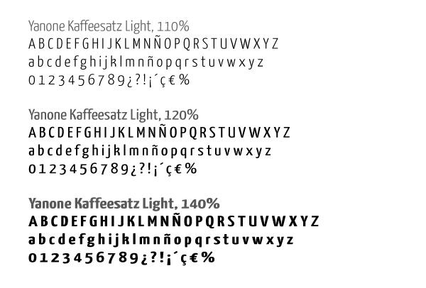 Tipografía principal para las infografías