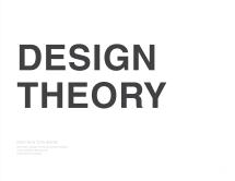 20160411 - Design Theory - Book